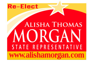 State Rep. Alisha Thomas  Morgan