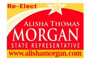 State Rep. Alisha Thomas  Morgan